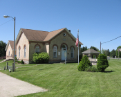 Mason Twp Hall and Library, Edwardsburg, Cass County, MI